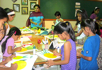 Mahaveerian outshines in Drawing Competition