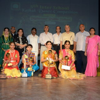 5th inter school kathak Dance competetion